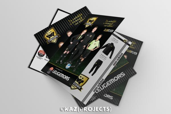 Sport 2000 Leugemors | Folder A3 - gevouwen